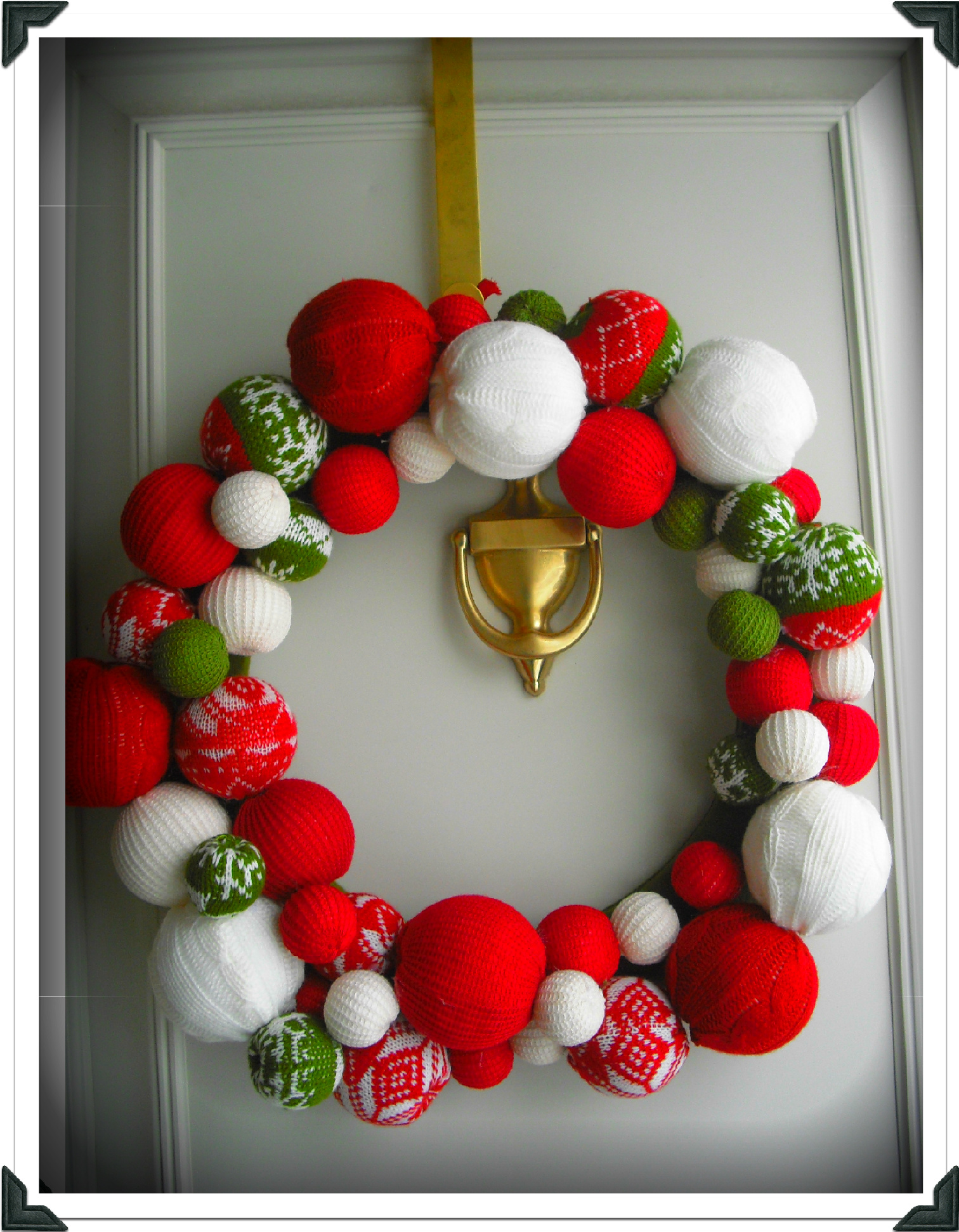 Novembre 2013 julie 39 s closet for Decoration de porte