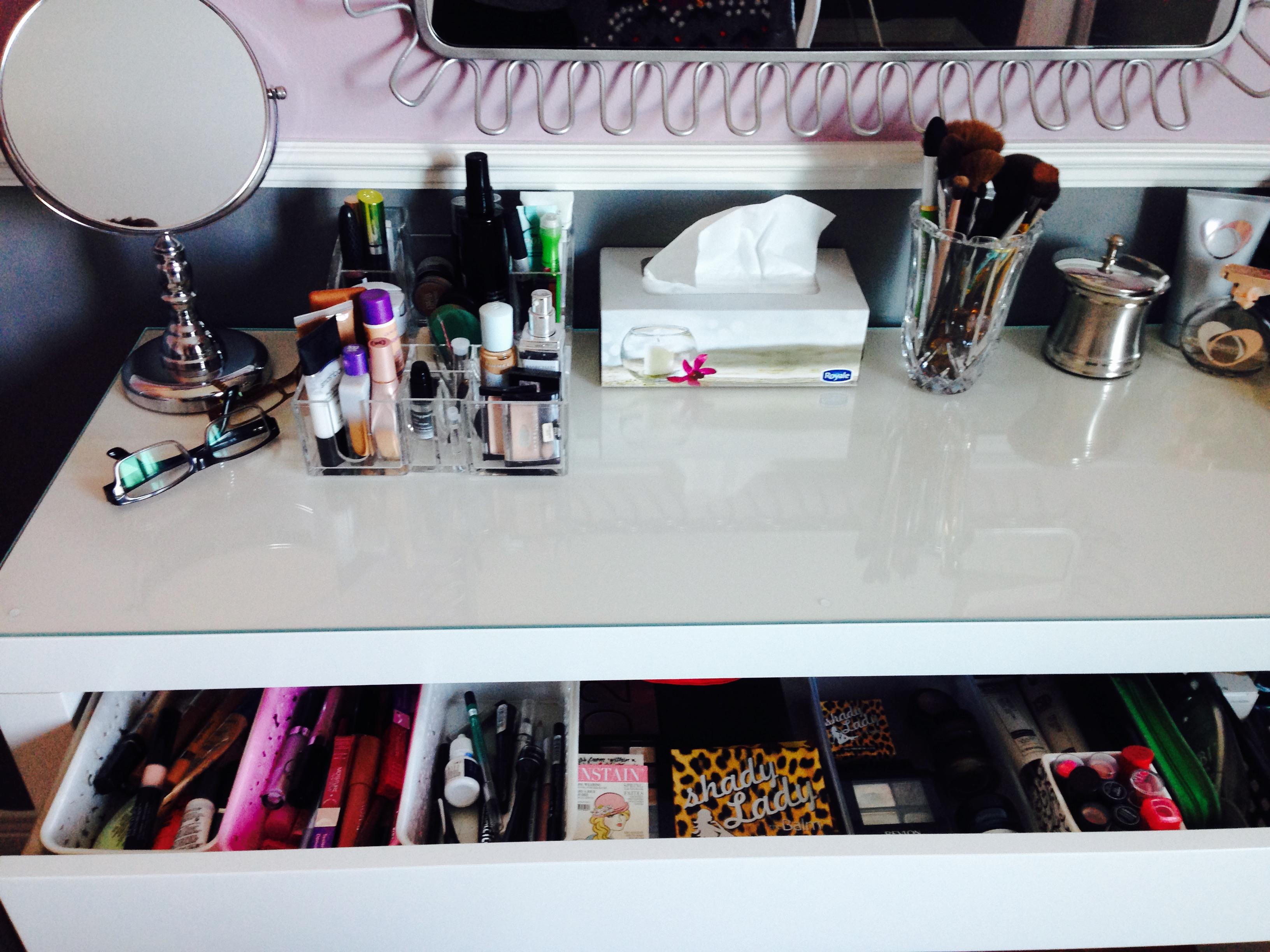 Rangement maquillage | Julie's closet